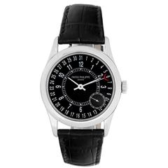 Patek Philippe White Gold Calatrava Automatic Wristwatch