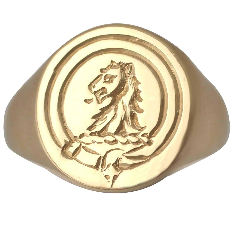 Heraldry Signet Ring