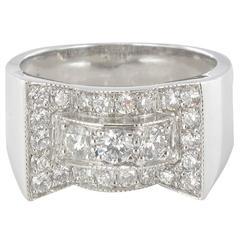 .87 Carats Diamonds Gold Ring