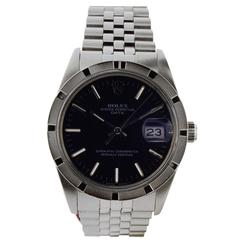 Rolex Stainless Steel Oyster Perpetual Date Wristwatch, 1970