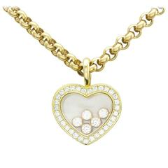 Chopard Happy Diamonds Collection Heart Necklace