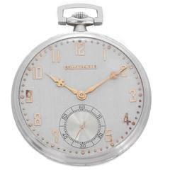 Tiffany & Co. Ladies Yellow Gold Open-Faced Pendant Pocket Watch