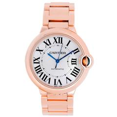 Cartier Rose Gold Ballon Bleu Automatic Wristwatch