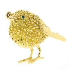 Tiffany & Co. Gold Baby Chick Brooch
