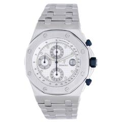 Audemars Piguet Stainless Steel Royal Oak Offshore Chronograph Wristwatch
