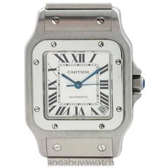 Cartier Stainless Steel Santos Galbe XL Automatic Wristwatch