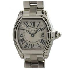 Cartier Ladies Stainless Steel Roadster Wristwatch
