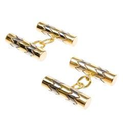 Tiffany & Co. Gold Double Sided Cufflinks, circa 1960