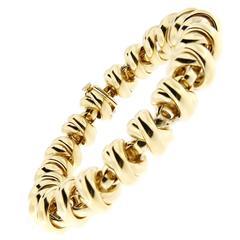 Jona Gold Link Bracelet