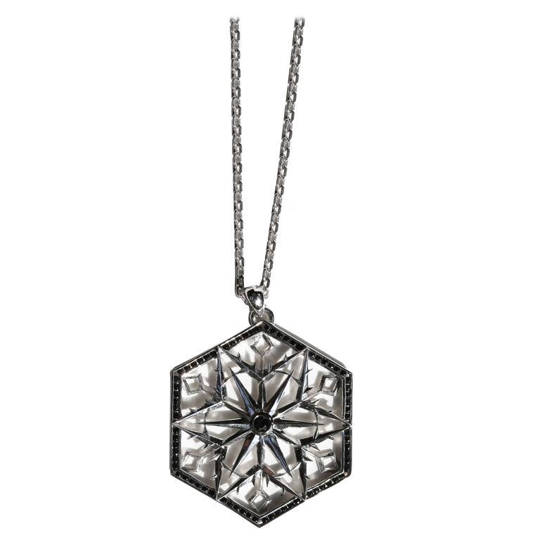 Snowqueen Sapphire Necklace