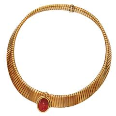 Bulgari Ancient Intaglio Tubogas Necklace