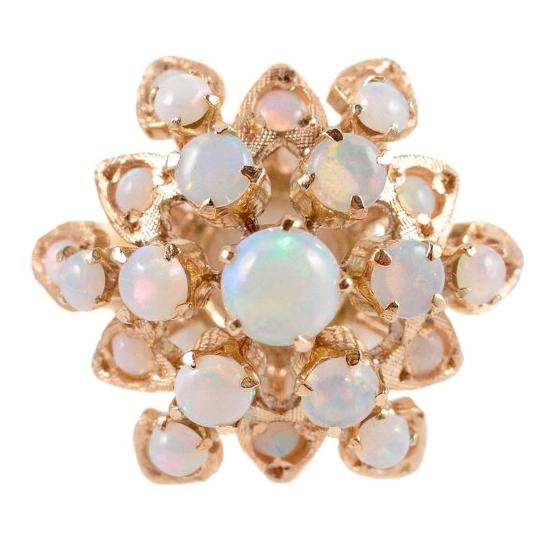 Gold Opal Harem Ring 1