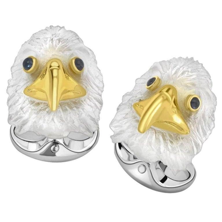 Deakin & Francis Bald Eagle Cufflinks For Sale