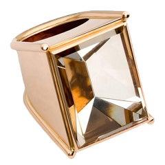 Colleen B. Rosenblat Topaz Gold Ring