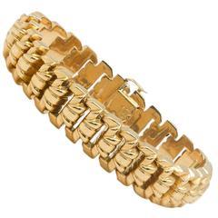 Classic Retro Rose Gold Bracelet