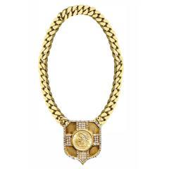 Unusual Bucellati Dollar Coin Necklace