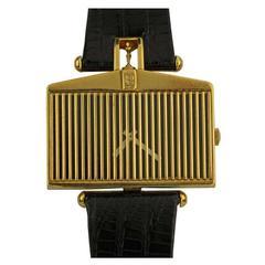 Corum Yellow Gold Rolls Royce manual-wind Wristwatch