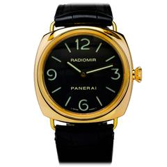 Panerai Yellow Gold Radiomir PAM 231 Wristwatch