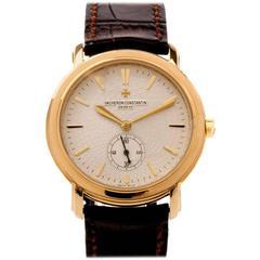 Vacheron Constantin Yellow Gold Malte Grande Classique Wristwatch circa 2000s