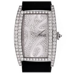 Piaget Ladies White Gold Diamond Limelight Quartz Wristwatch Ref G0A3918