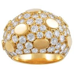 Van Cleef & Arpels Gold Diamond Ring