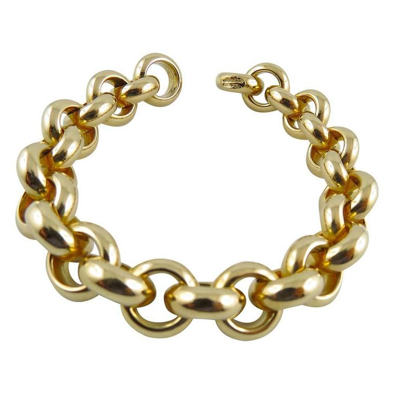Jona 18K Yellow Gold Chain Bracelet
