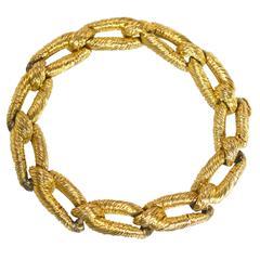 1970s Cartier Gold Link Bracelet