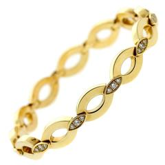 Cartier Diadea Diamond Gold Bracelet