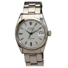 Rolex Stainless Steel Date Oyster Wristwatch Ref 1500