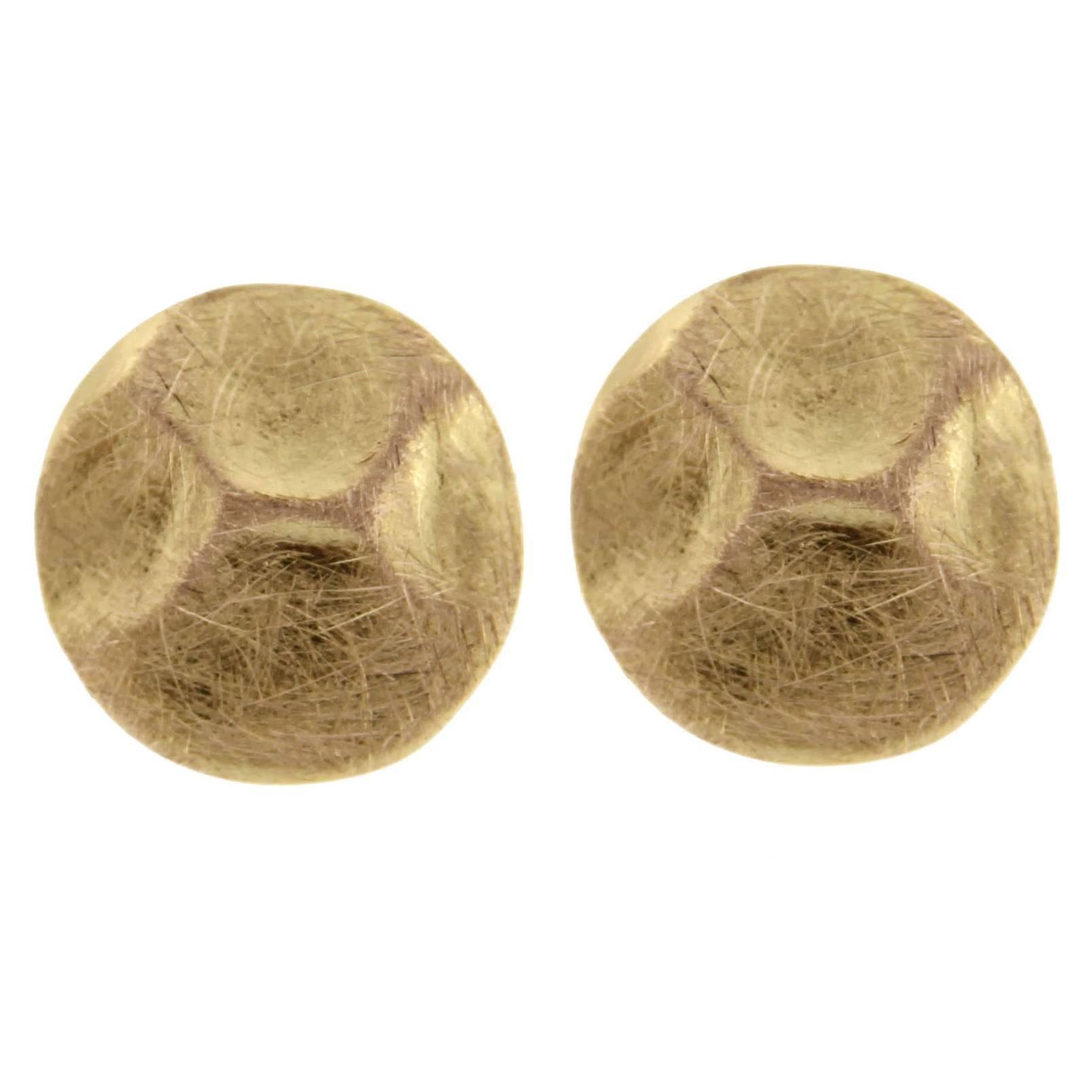 Jona 18 Karat Rose Gold Stud Earrings