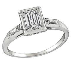 Vintage Jabel 0.50ct Diamond Engagement Ring