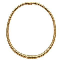 18ct yellow gold tubogas necklace by Gubelin
