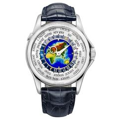 Patek Philippe ​World Time White Gold Mens Wristwatch