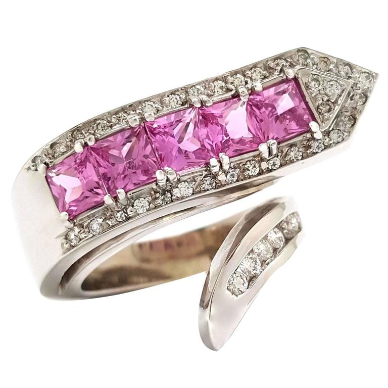 Faux Pink Sapphire Rings