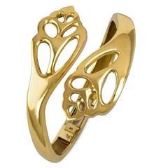 Tiffany & Co. Angela Cummings Gold Shell Bracelet