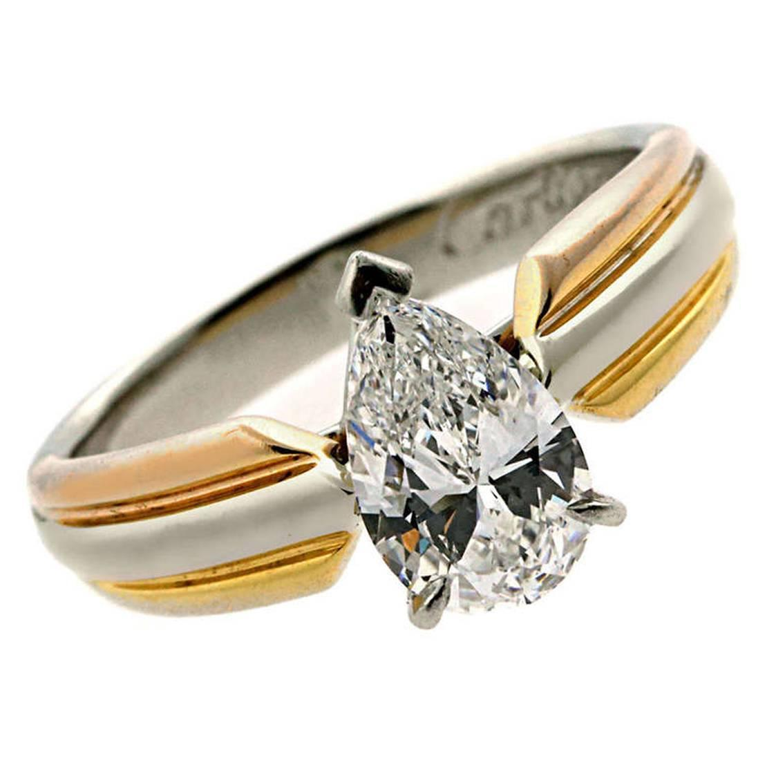 tri intertwined rings listing three rolling zoom fullxfull trinity bands color wedding il ring