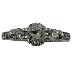 1.07 Carat Diamond Engagement Ring