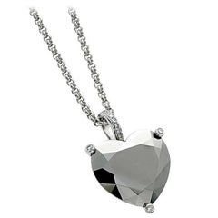 Chopard Diamond Gold Heart Necklace