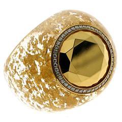 Chopard Golden Dreams Diamond Gold  Ring