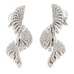 Ventaglio Diamond Earrings by Miseno