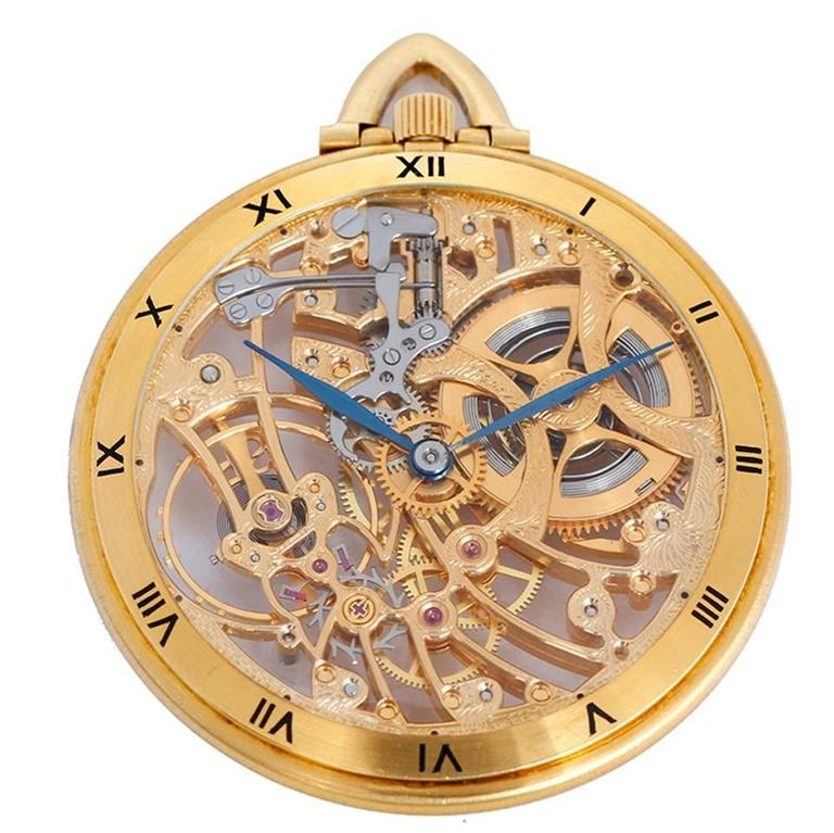 audemars piguet skeleton pocket watch at 1stdibs