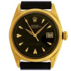 Rolex 18K Gold  Oyster Perpetual Datejust  Ref. 6605