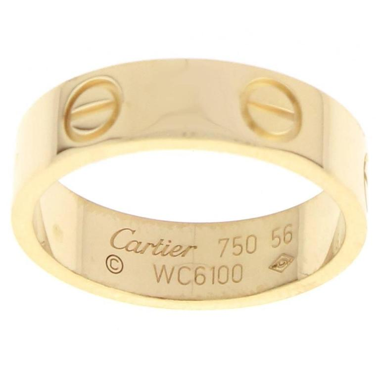 Cartier Love Ring For Sale
