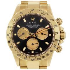 Rolex 116528 Daytona 18k Yellow Gold Paul Newman Dial Watch