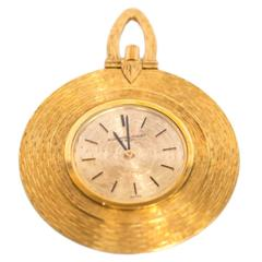 Audemars Piguet Yellow Gold Automatic Movement Pocket Watch Pendant