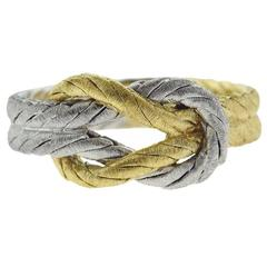 Buccellati Two-Color Gold Braided Ring