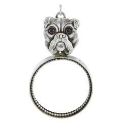 English Bulldog Sterling Magnifier