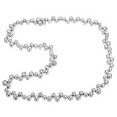 Tiffany & Co. Diamond Platinum Bubbles Necklace