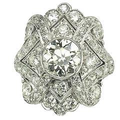 Diamond Platinum Dress Ring