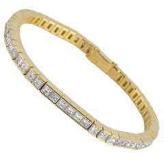 Tiffany & Co. Diamond Line Bracelet 15.00 Carat